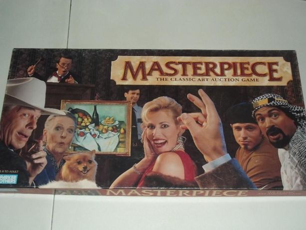 Masterpiece The Classic Art Auction Game