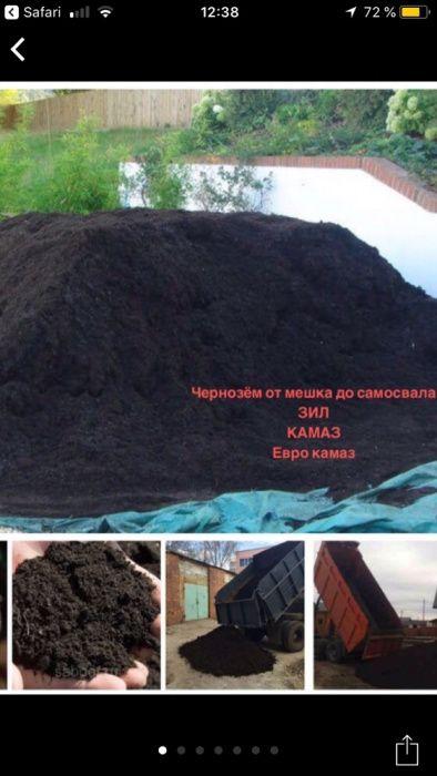 Чернозем плодородный в Одессе.Благоустройство и Озеление по Одессе Одесса - изображение 1