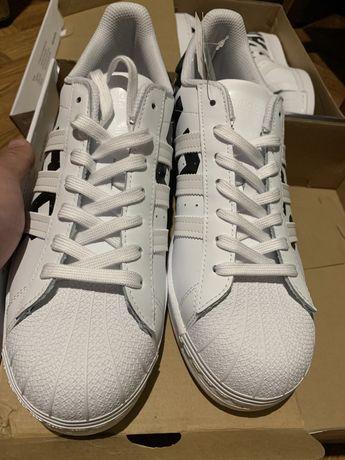 оригинал Adidas Superstar кроссовки Адидас Суперстар Адідас 43