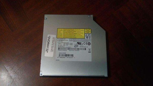 Gravador DVD interno para portátil