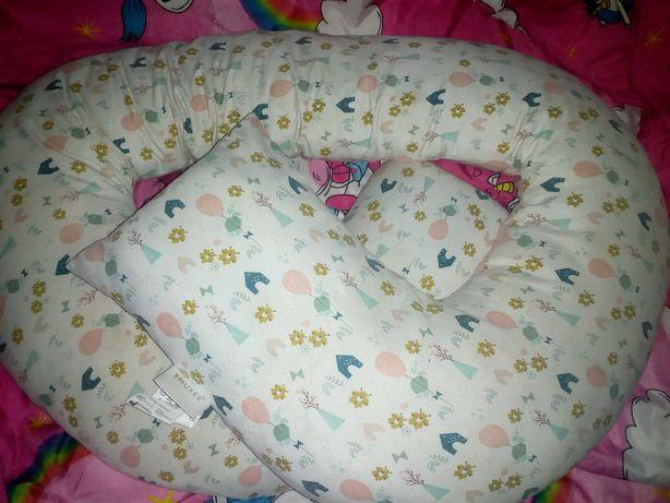 Poduszka ciążowa lub do karmienia