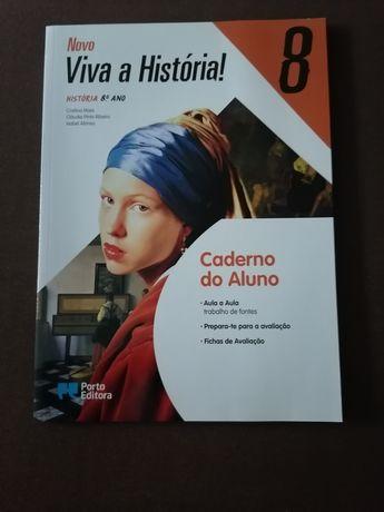 Caderno de atividades de História 8 ano: Novo viva a História