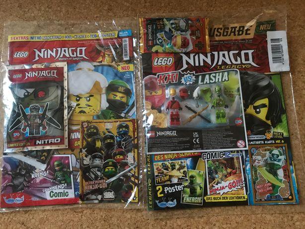 Журналы с минифигурками лего Ниндзяго ( lego ninjago)