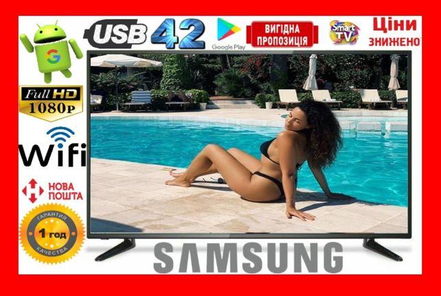 Распродажа!!! Samsung Series6 42 дюйма SMART Wi-Fi Т2