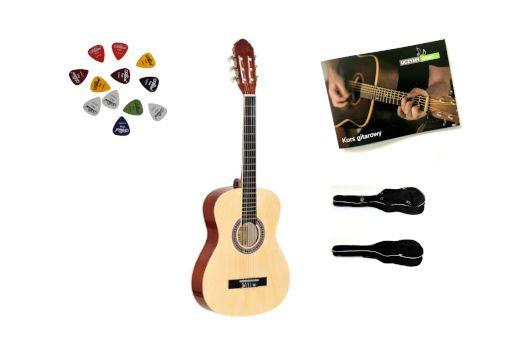 Gitara Klasyczna PRIMA CG-1 4/4 NA +Gratisy+pokrowiec+DarmowaWYSYŁKA