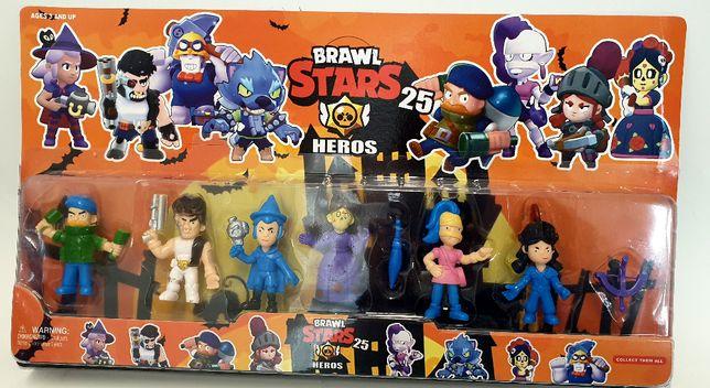 BRAWL STARS 25 Zestaw duże figurki 6 szt GRA