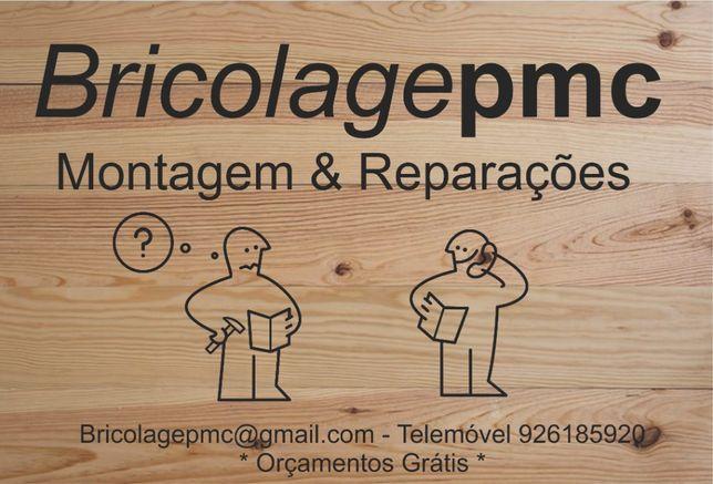 Bricolage e Montagem de móveis: Ikea, Conforama, Leroy e outras marcas