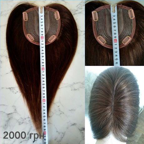 Парик(накладка,топпер,шиньон) из 100% натуральных волос