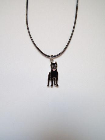 naszyjnik z psem pies psy