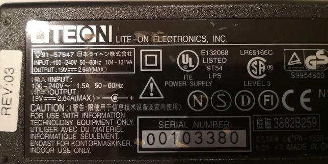 Carregador para portátil Asus 19V 2,64A