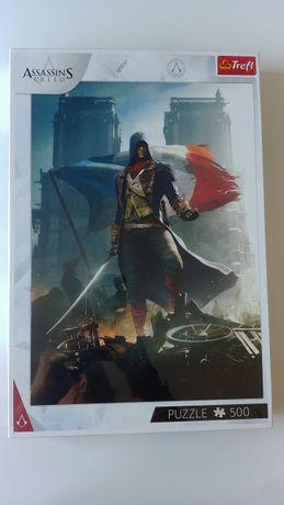 Assassin's Creed Puzzle Waleczny Arno Trefl 500 el. Nowe