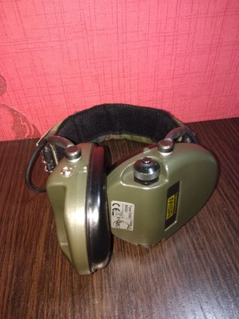 Наушники стрелковые активные MSA Supreme Pro Headband Green