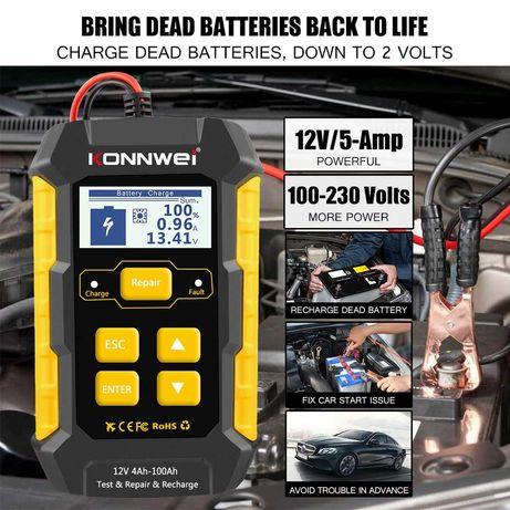 Тестер зарядка KONNWEI KW 510
