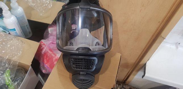 Маска полнолицевая scott safety+2фильтра
