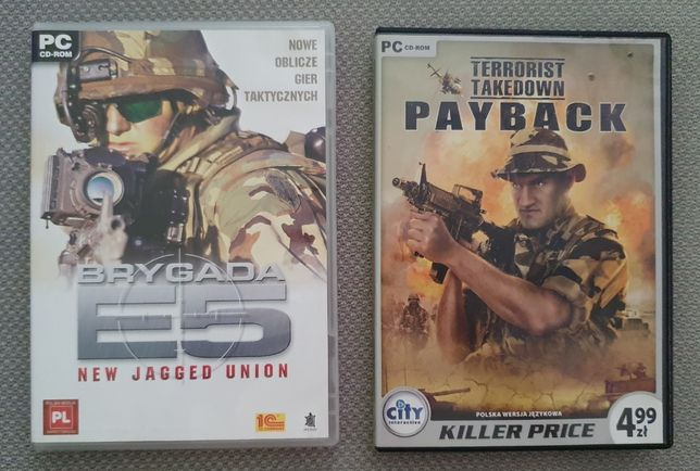 Gry PC Brygada E5 i Terrorist Takedown Payback