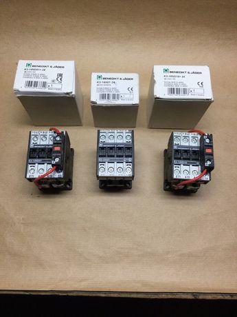 Styczniki  BENEDICT 4kW 24VDC, 5,5kW 24VDC, 5,5kW 24VAC