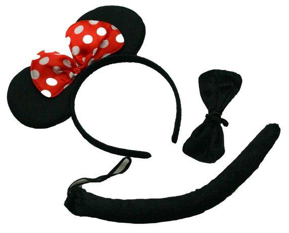 Strój myszka miki  opaska kostium myszki