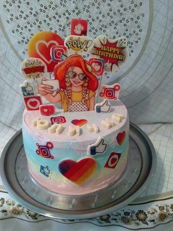 Тортики на свята