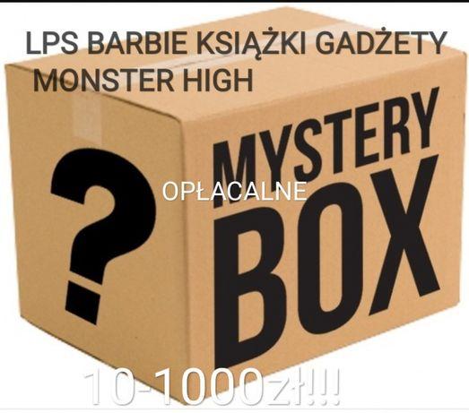 MYSTERY BOX zabawki książki gadżety figurki lps monster high barbie