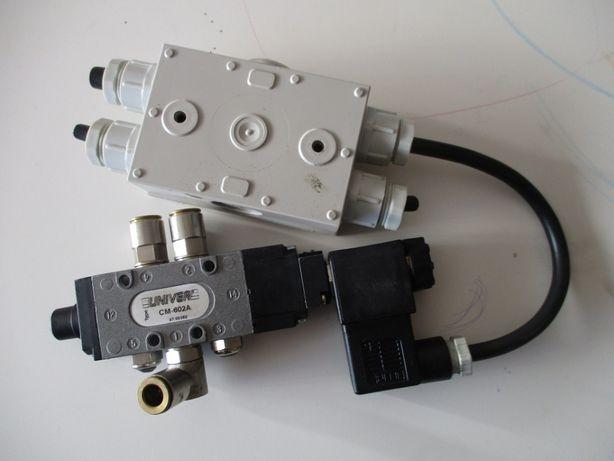 Válvula pneumática com comando elétrico REF. UNIVER CM-602A