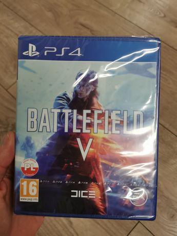 Battlefield V nowa w folii gra ps4 po polsku playstation 4