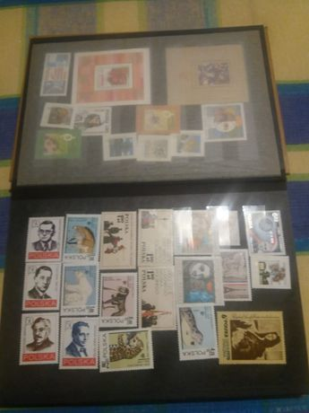 Znaczki pocztowe niestemplowane, Kolekcja Sztuki Polskiej