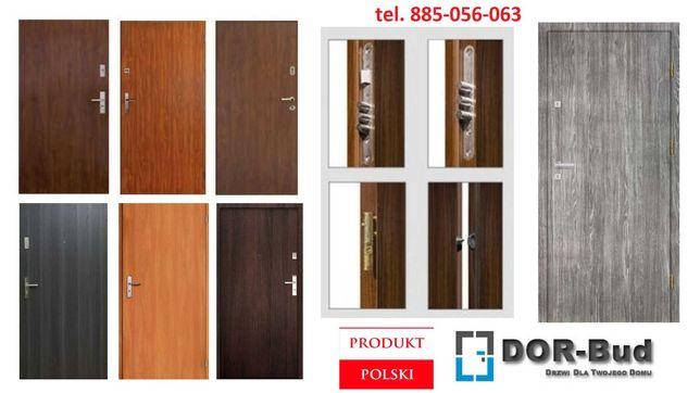 Drzwi do bloku - wejściowe do mieszkania + montaż