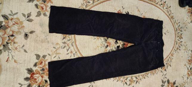 spodnie jeans czarne sztruks Levis 752 zamek stan bardzo dobry