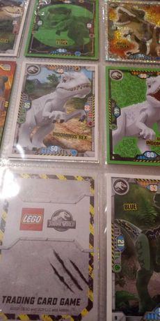 karty LEGO Jurassic World. Serie 1