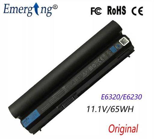 Bateria 6 células 11.1 V 65Wh Original Portátil Dell Latitude. Nova