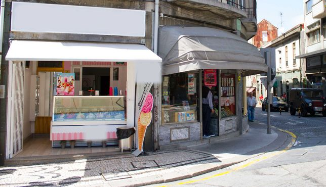 Loja/Gelataria para Trespasse - Centro do Porto