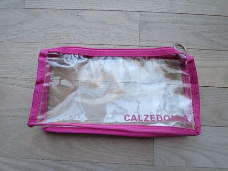 CALZEDONIA kosmetyczka pirónik różowa Okazja
