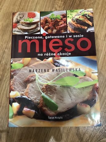 """Książka Marzena Wasilewska """"Pieczone, gotowane mięso na różne okazje"""""""