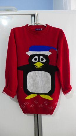 Damski zimowy sweterk rozm S/M