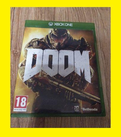 Gra Gry Xbox One - DOOM - Nowa - Po polsku - Idealna CD!