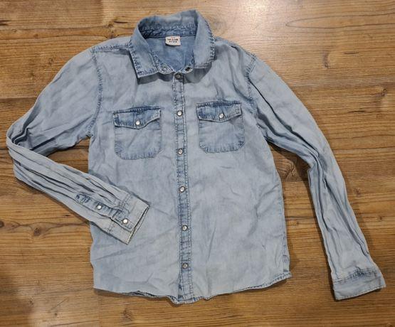 Tape o leil koszula jeans chłopiec r. 152