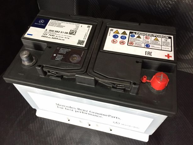 Dzierzkowice - Nowy akumulator Oryginał MERCEDES 74Ah 680A (Varta Bosc