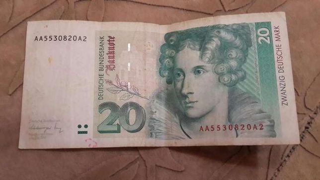 Продам 20 дольч марок 1991 года