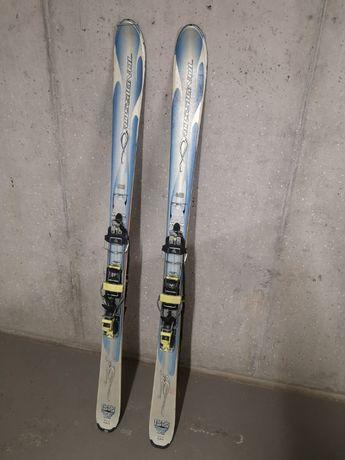 Zestaw skiturowy narty rossignol + wiazania silvretta + foki