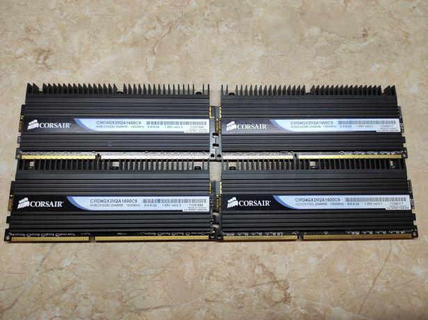 Corsair Dominator DDR3 CMD4GX3M2A1600C9 9-9-9-24 4X2 GB