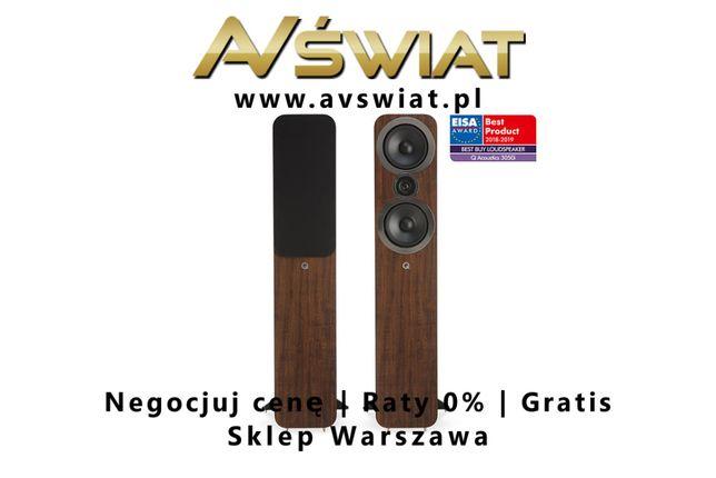 Q Acoustics 3050i kolumny podłogowe 91dB sklep AVŚwiat odsłuch