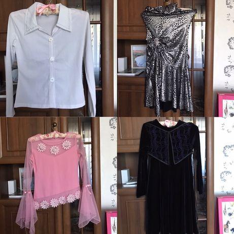 Одежда на девочку подростка - платье / блузка . Все, что на фото