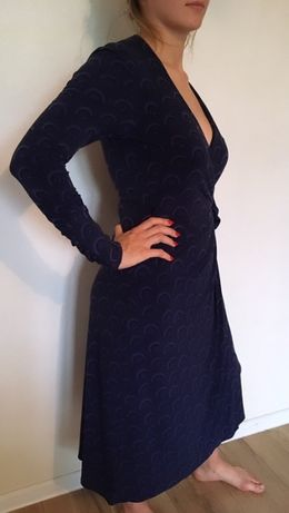 Piękna Sukienka Wiązana
