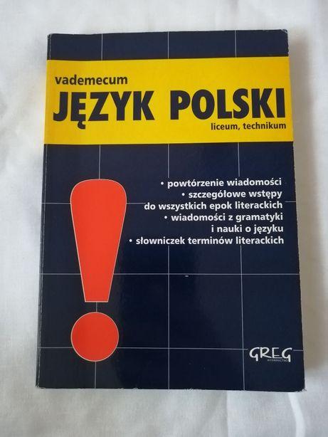 vademecum, JĘZYK POLSKI; liceum, technikum