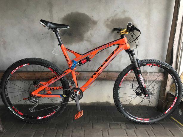 Велосипед KELLYS 29 Гидравлика DEORE XT Rock Shox Воздух Двухподвес