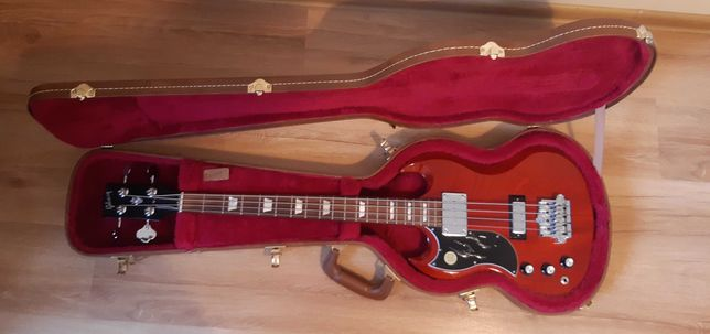 Gibson SG Standard Bass leworęczny, leworęczna