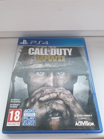 Call of dufy ww 2 ps4 gra ww II PlayStation 4 jak nowa
