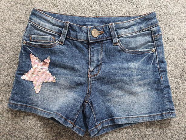 Spodenki jeansowe C&A rozm. 140