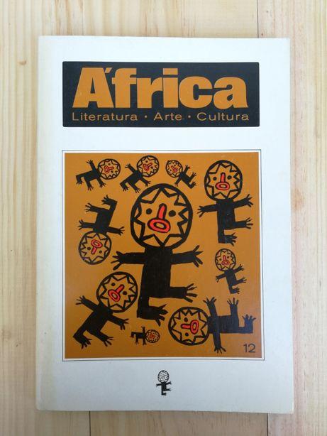 Revista áfrica literatura arte cultura, nº 12 , fevereiro 1986
