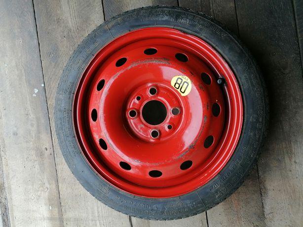 Koło dojazdowe dojazdówka Corolla 4x100 uniwersalne Michelin toyota
